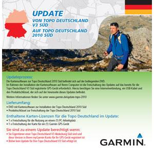 Garmin Topo Deutschland 2010 Süd Update