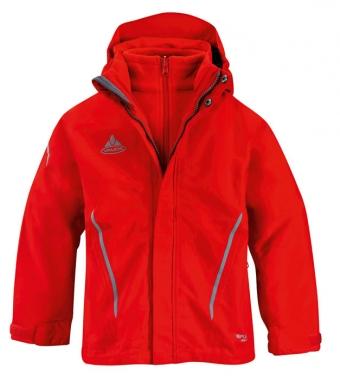 Vaude Kids Campfire 3in1 Jacket II - red / 164