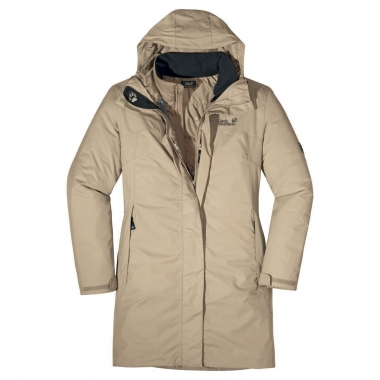 Jack Wolfskin Gracefield Coat Women - puresands / M