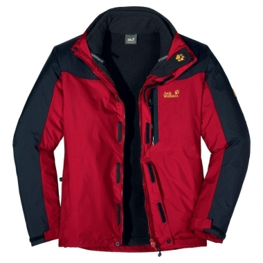 Jack Wolfskin Galaxy Jacket Men - tangored / L