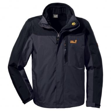 Jack Wolfskin Galaxy Jacket Men - darksteel / L