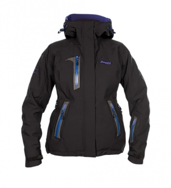 Bergans Svartisen Insulated Lady Jacket - black-cyberblue / L