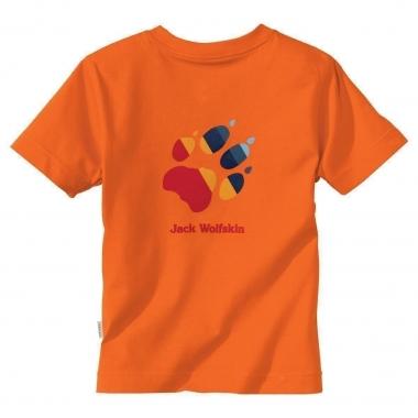 Jack Wolfskin Kids Paw T - dark-orange / 152