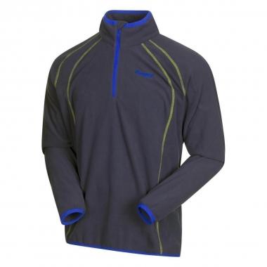 Bergans Ombo Half Zip - navy-cobaltblue-neongreen / XL