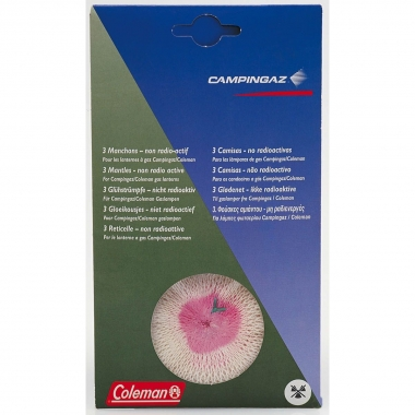 Campingaz/Coleman Glühstrümpfe, Größe M 3er Pack