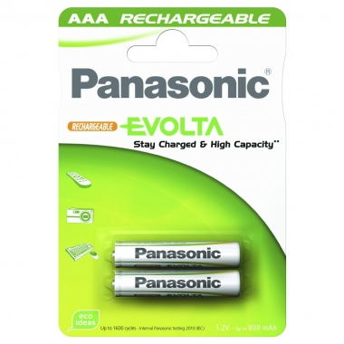 Panasonic Akku Infinium, geladen AAA, 2 Stück