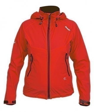 Bergans Microlight Lady Jacket - red / XXL