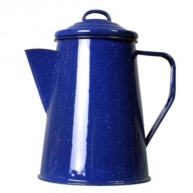Relags Emaille Kaffeekanne 1 Liter, blau, ca. 6 Tassen