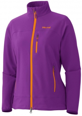 Marmot Womens Tempo Jacket - vibrant-purple / L