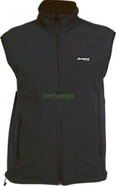 Bergans Basic Vest SoftShell-Weste - black / XL