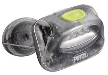 Petzl Zipka 2 4-LED Stirnlampe storm-grey