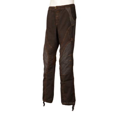 Montura Fusion Cotton Pants - olive-brown / S