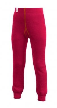 WoolPower Kinder Unterhose lang 200g - rot-orange / 140