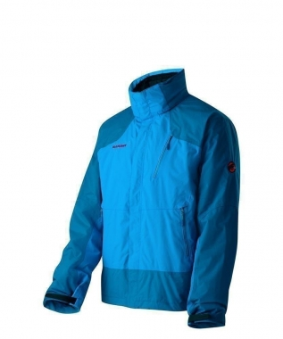 Mammut Kinabalu 4-S Jacket Men - cyan-darkcyan / XL