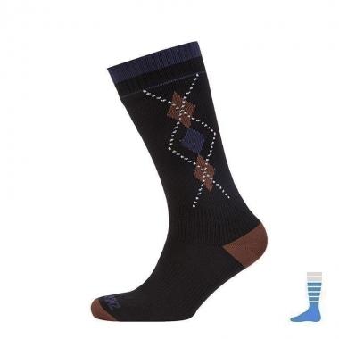 SealSkinz Mid Weight Mid Length Socks - black / 39-42