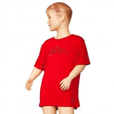 Regatta Kinder Funktions T-Shirt Highbrow - pepper / 164