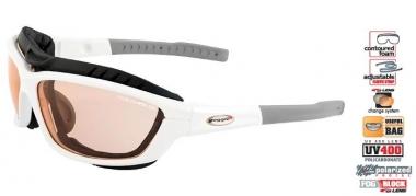 Goggle USA T415 Sportsonnenbrille - brightwhite-black