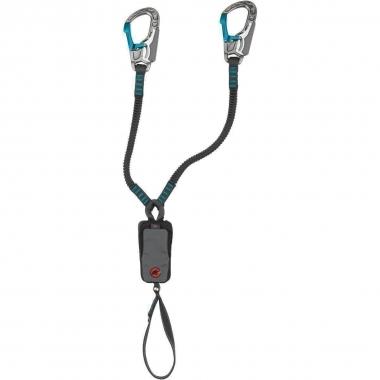Mammut Tec Step Bionic Klettersteigset - basalt-aqua