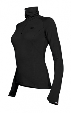 Icebreaker Tech Top Women - black / L