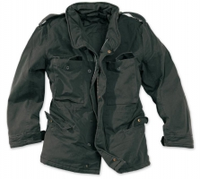 M65 washed schwarz, Größe: L