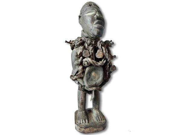 Nkisi, Nagelfetisch der Bakongo 34cm