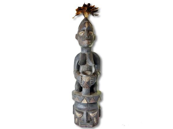 Helmmaske Epa, Stammeskunst der Yoruba, 80cm