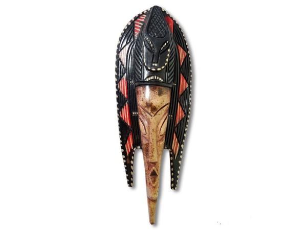 Wandmaske, Fischmaske Afrika 45cm
