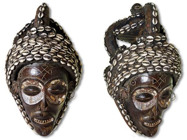 Maske Chokwe Kongo/Afrika 51cm