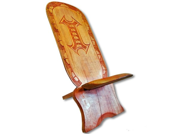 Afrikanischer Steckstuhl Symbol 1m 2.Wahl