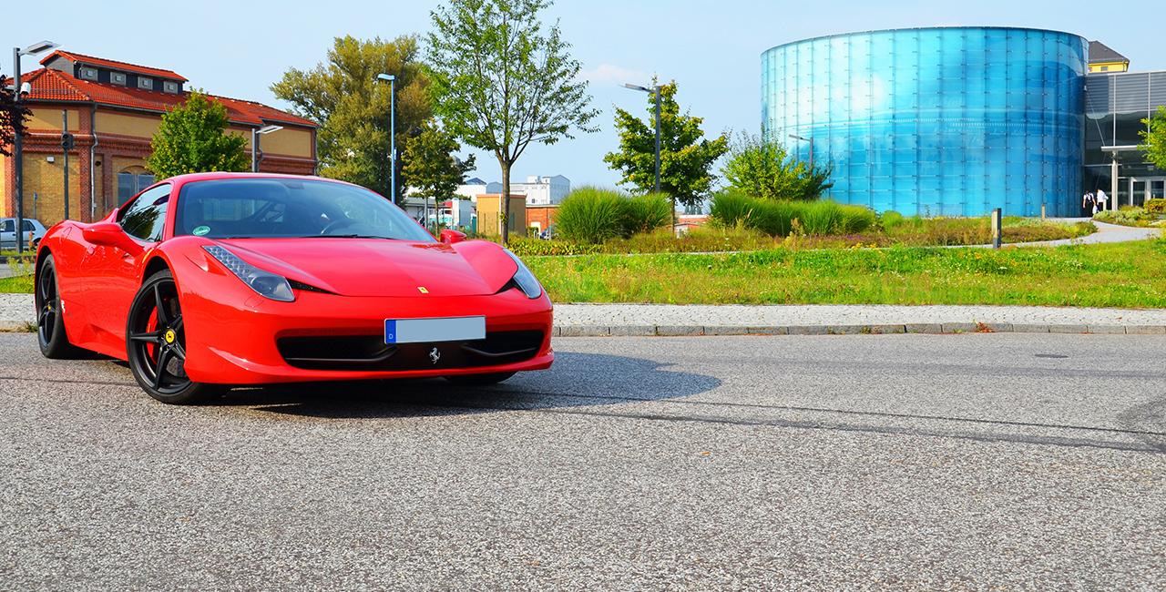 1 Tag Ferrari 458 Italia mieten München