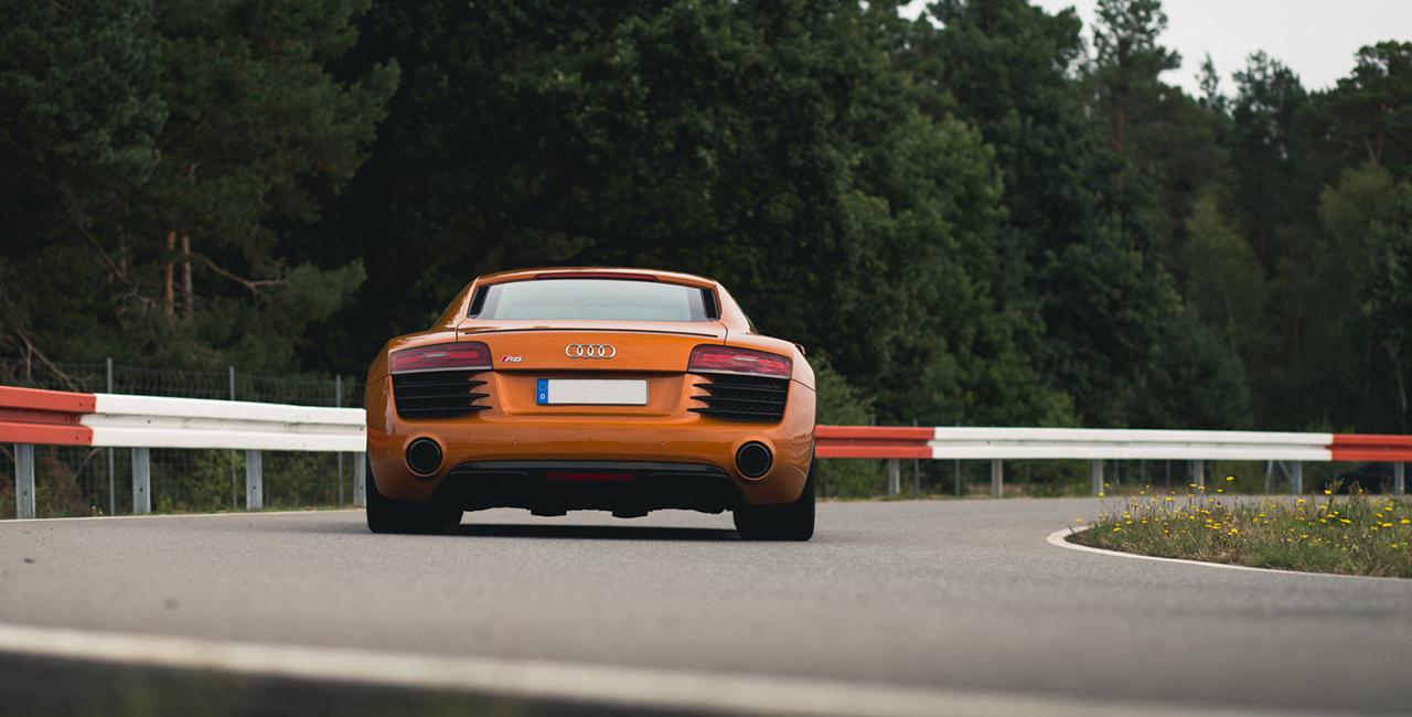 20 Runden Audi R8 selber fahren auf dem Spreewaldring