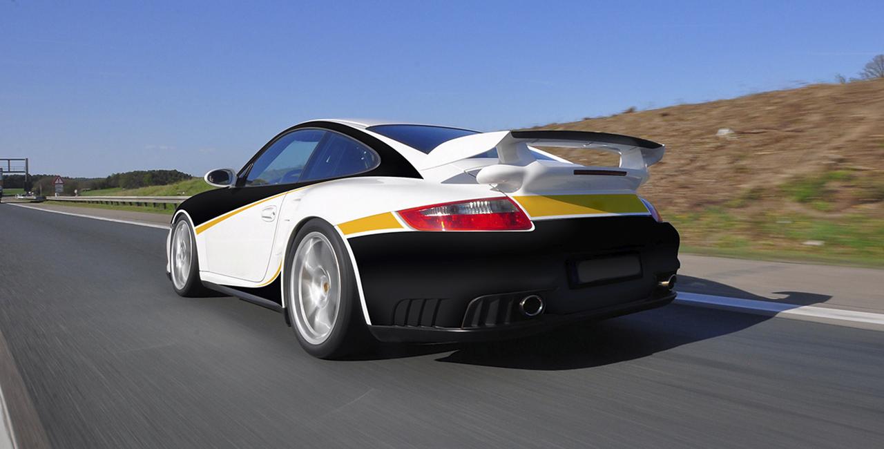 3 Runden Renntaxi Porsche 911 GT3 auf dem Spreewaldring