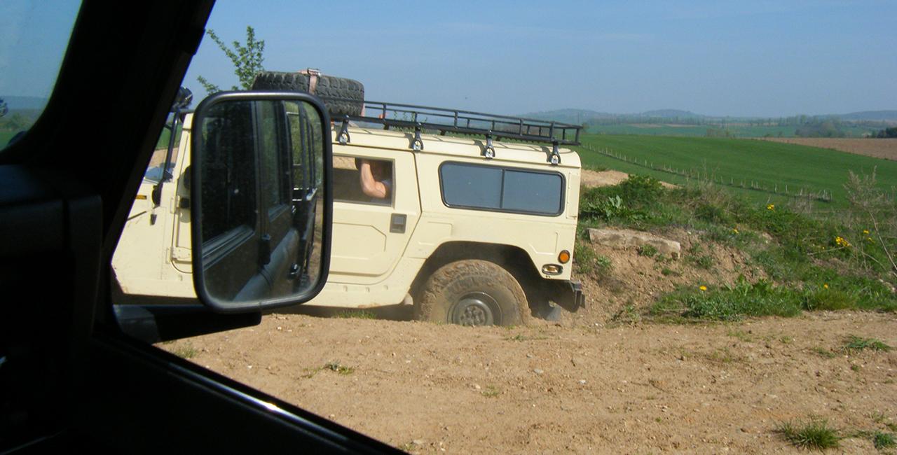 30 Min. Hummer H1 offroad fahren in Steinbourg-Saverne