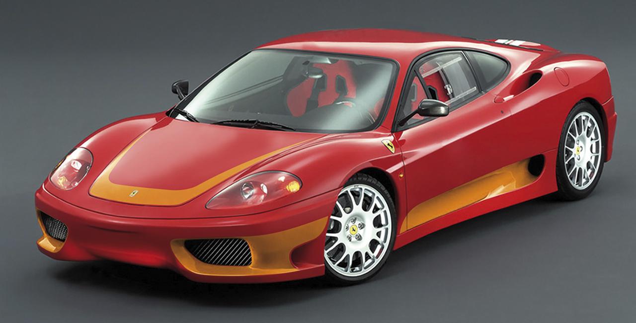 4 Runden Renntaxi Ferrari F360 auf dem Eurospeedway Lausitz