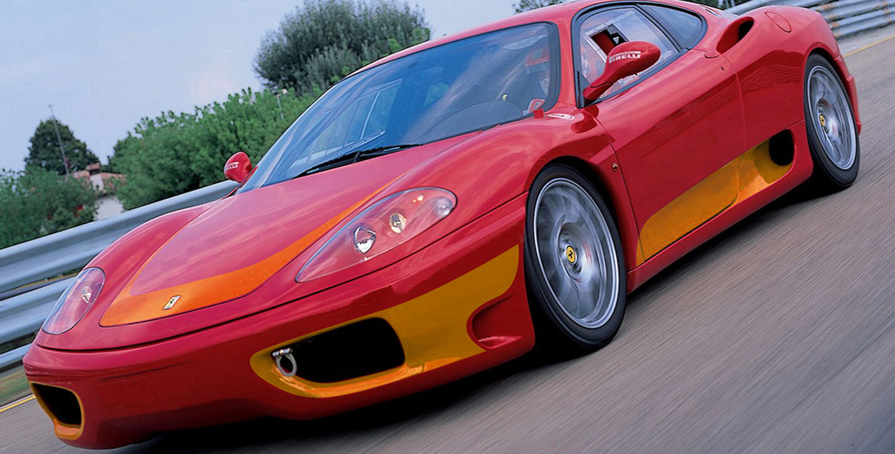 4 Runden Renntaxi Ferrari F360 auf dem Hockenheimring
