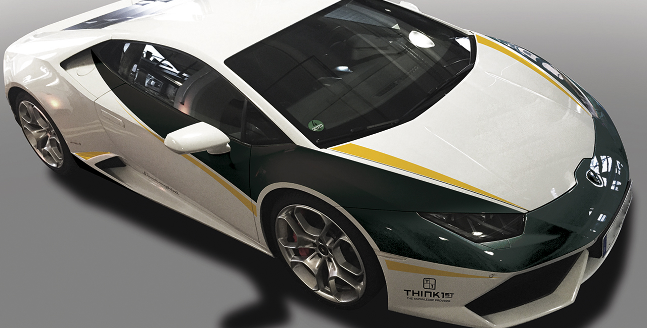 4 Runden Renntaxi Lamborghini Huracan auf dem Hockenheimring