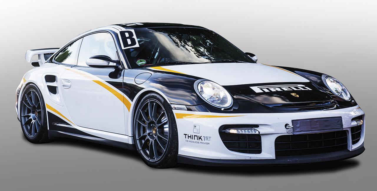 4 Runden Renntaxi Porsche 911 GT3 auf dem Hockenheimring