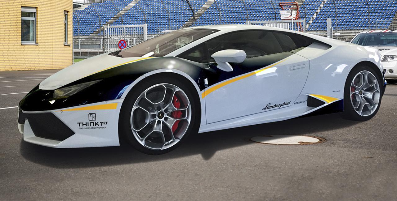 6 Runden Lamborghini Huracan selber fahren auf dem Hockenheimring