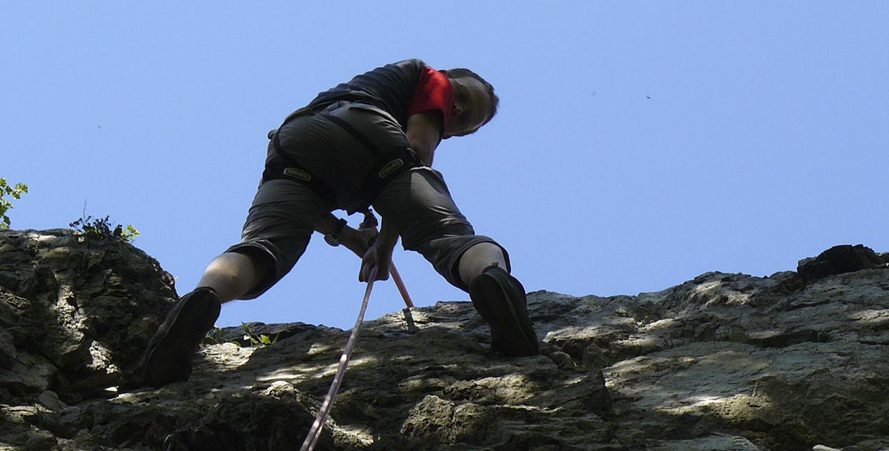 6 Std Kletterkurs Fels in Masserberg, Raum Erfurt in Thüringen