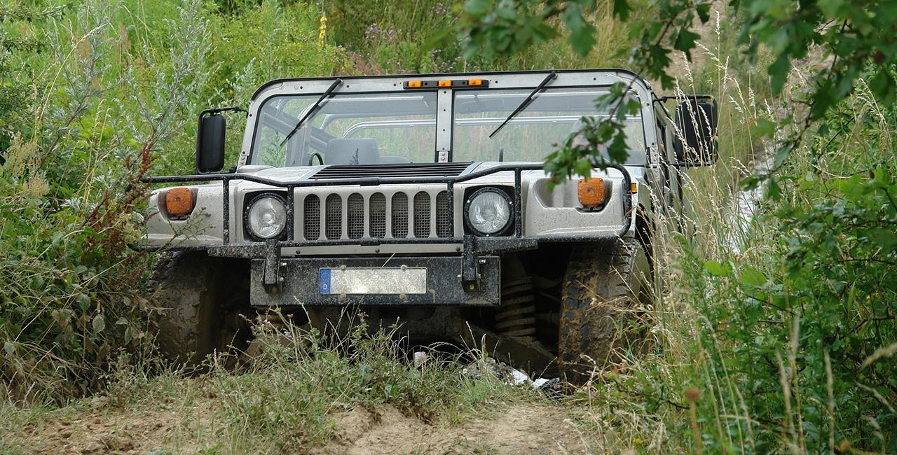 60 Min. Hummer H1 offroad selber fahren Delitzsch