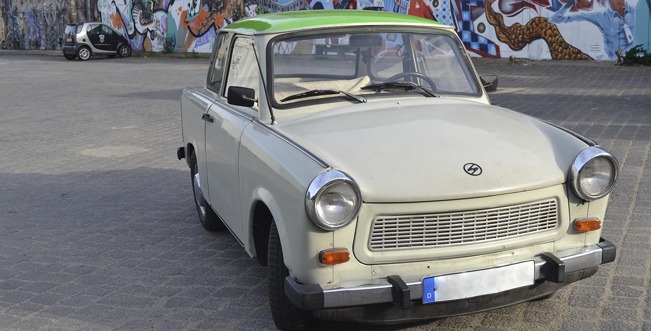 8 Std. Trabant fahren in Berlin