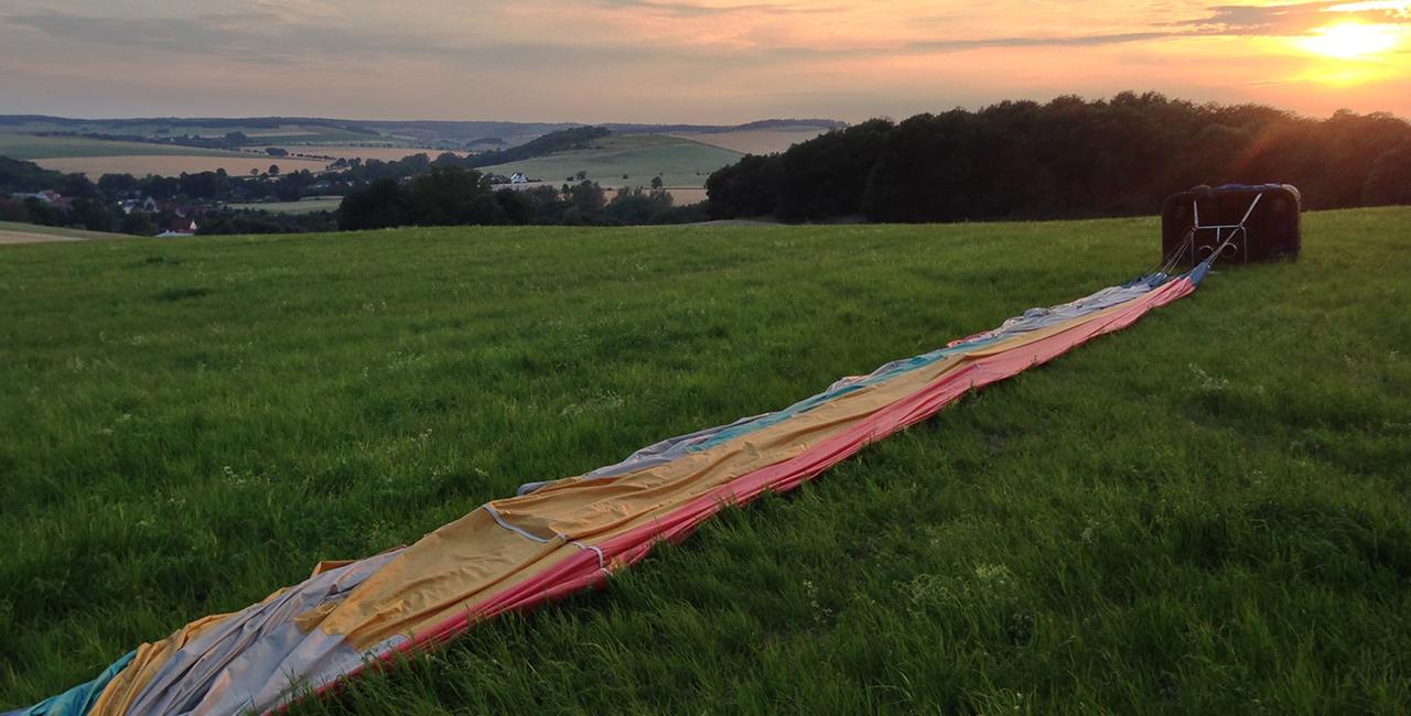Romantische Ballonfahrt für Zwei Blankenburg