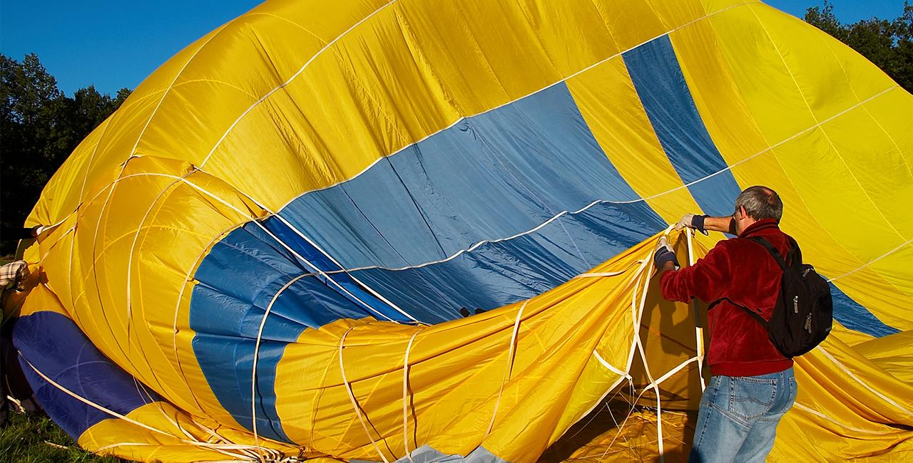 Romantische Ballonfahrt für Zwei Büchenbach