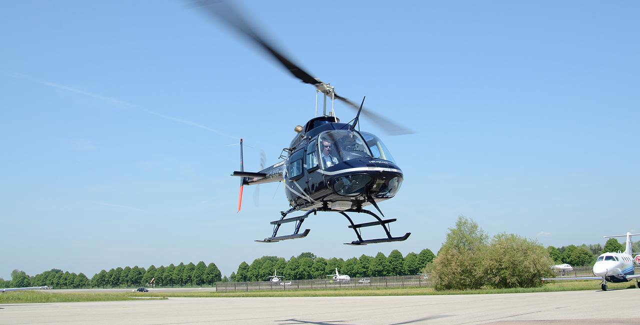 30 Min. Hubschrauber Rundflug Burg Feuerstein