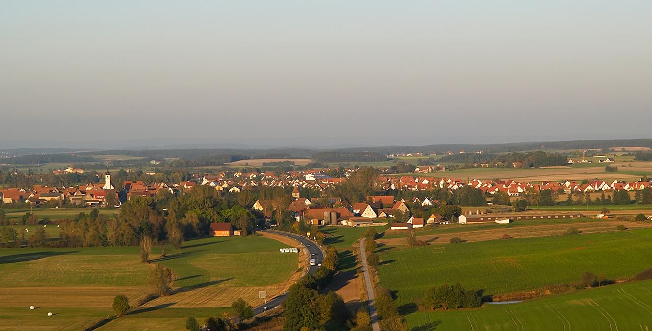 Romantische Ballonfahrt für Zwei Ebensfeld