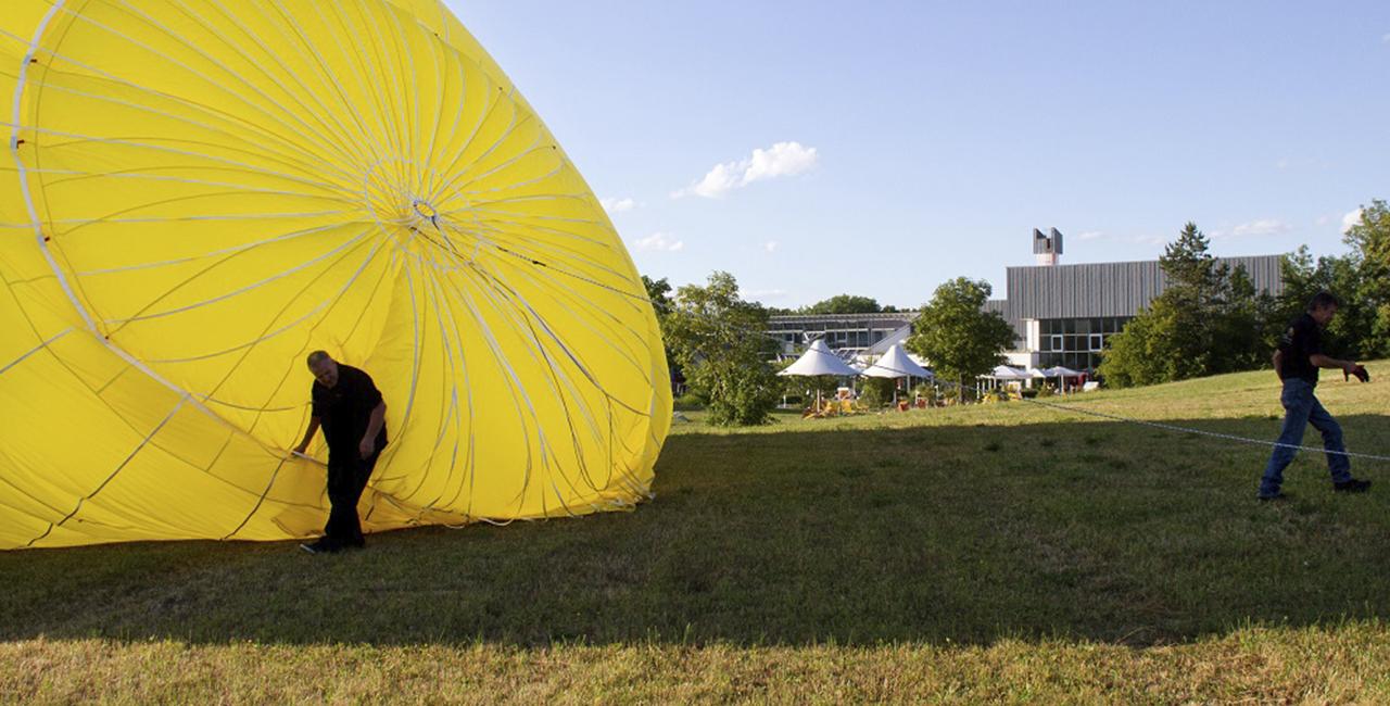 Ballonfahren in Erfurt - Rhoda