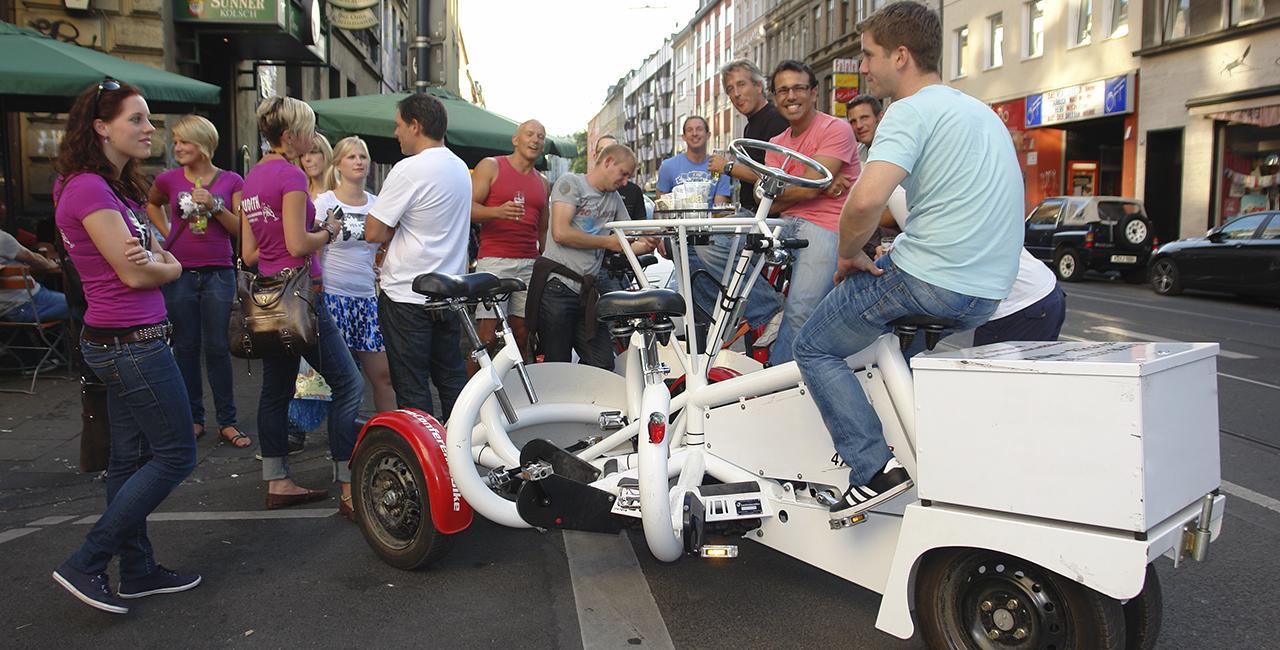 Eventbike fahren mit Guide Köln