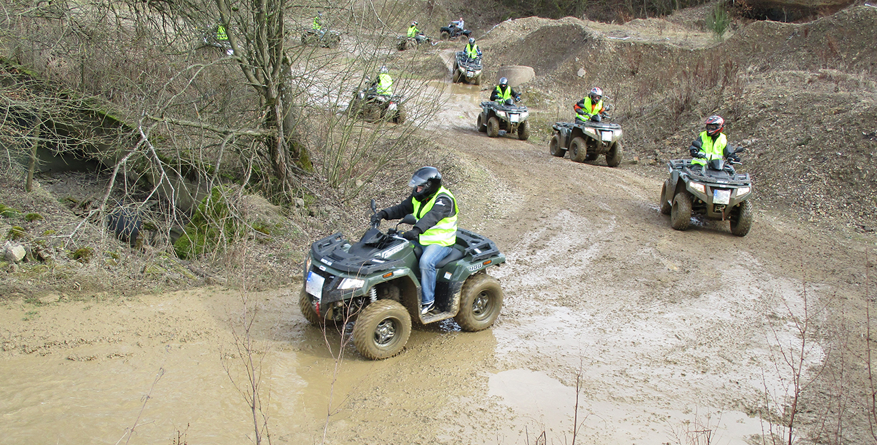 Quad On/Offroad Tour am Nürburgring in Herresbach
