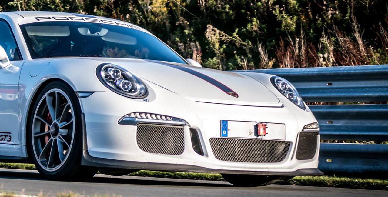 8 Runden Porsche GT3 selber fahren auf dem Hockenheimring