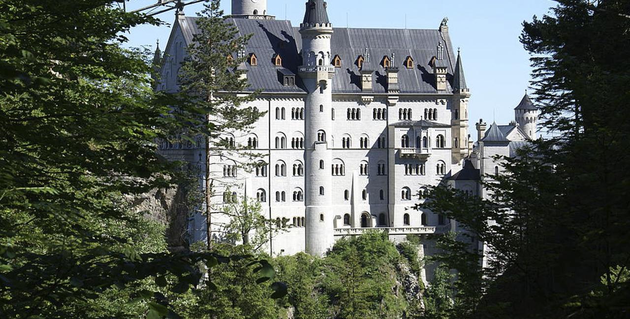 Tragschrauber Tagesausflug zum Schloss Neuschwanstein ab Lahr
